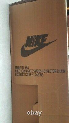 Vintage Nike Directors Chair Store Display Advertisement RARE
