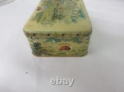 Vintage Rare Advertising Tobacco Athlete Canadian Tin Beautiful 906