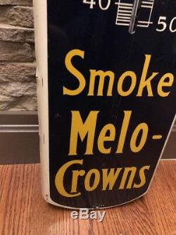 Vintage & Rare Cigar Thermometer Advertising Sign