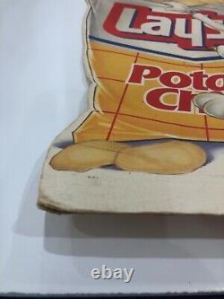 Vintage Rare Lays & Doritos Cheesier 1995 Sign By Frito-lay