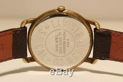 Vintage Rare Swiss Men's Quartz Advertising Watch Of Company Levi Strauss &co