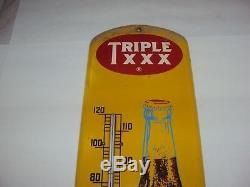 Vintage Rare Triple XXX Soda Thermometer 27 958-z