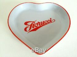 Vtg 1980's Rare Fiorucci New Wave Italian Fashion Iconic Porcelain Heart Dish