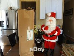 Vtg Harold Gale Santa RARE 7 UP SODA CHRISTMASADVERTISING Display HUGE 28